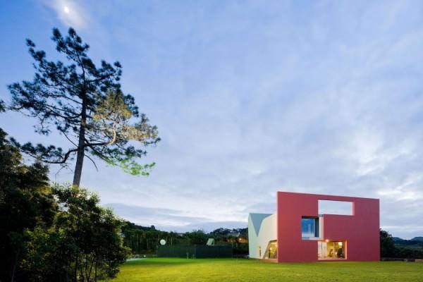 arhitectura neconventionala casa