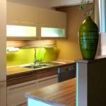 bucatarie in doua culori