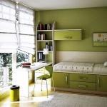 camere adolescenti verde