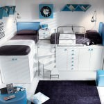 camera pentru copii albastra