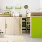 camera pentru copii verde