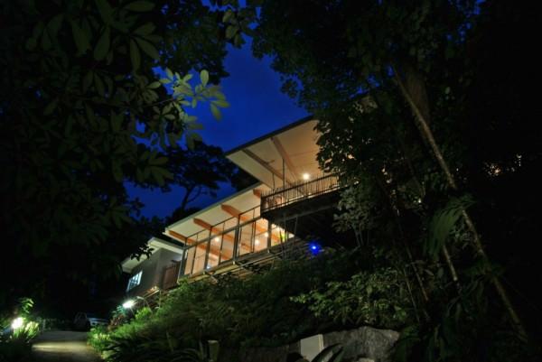 arhitectura casa in copac