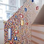 Scara interioara din piese Lego