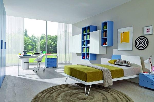 Amenajari colorate pentru camere de adolescenti kiwistudio - Camere per bambini design ...