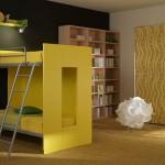 camera copii galben