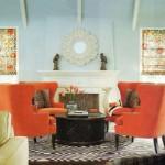 Combinatii de culori pentru amenajari interioare indraznete