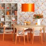 Amenajari interioare portocalii: ce e Tangerine Tango si cum se foloseste