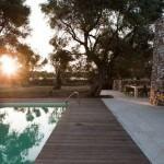 Arhitectura cu piatra pentru o casa in natura