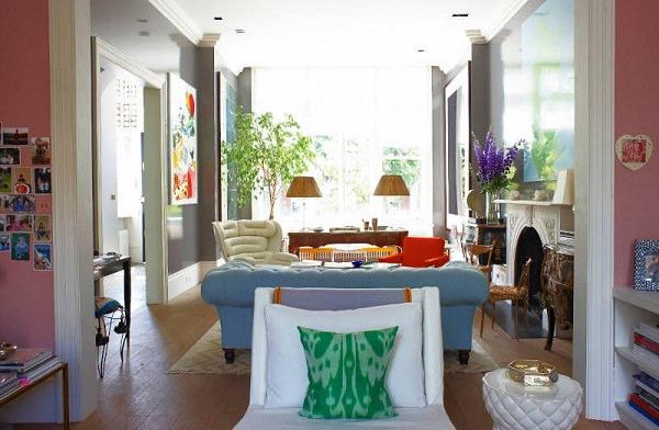 Amenajari interioare in culori
