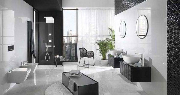 amenajarea baii alte exemple de design contemporan kiwistudio. Black Bedroom Furniture Sets. Home Design Ideas