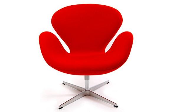 Scaunul Lebada Arne Jacobsen