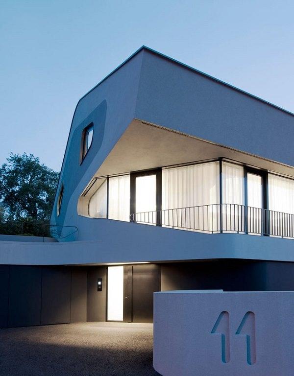detaliu arhitectura contemporana