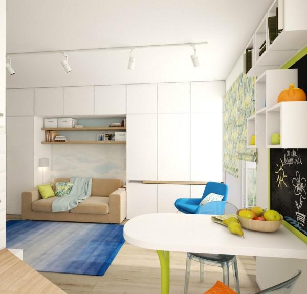 Amenajare pentru un apartament foarte mic