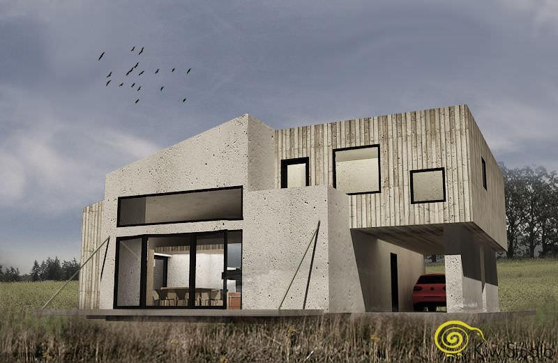 Casa container arhitectura contemporana