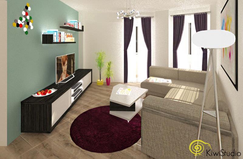 Design interior cu buget mic pentru un apartament