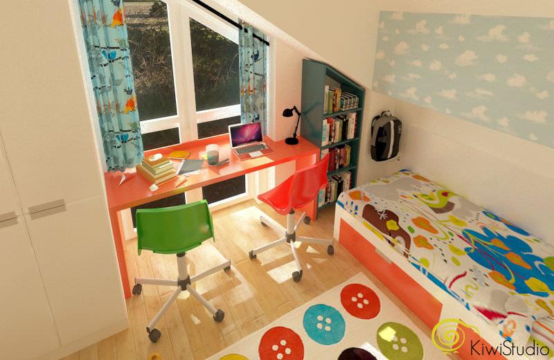 Design interior pentru camera copiilor