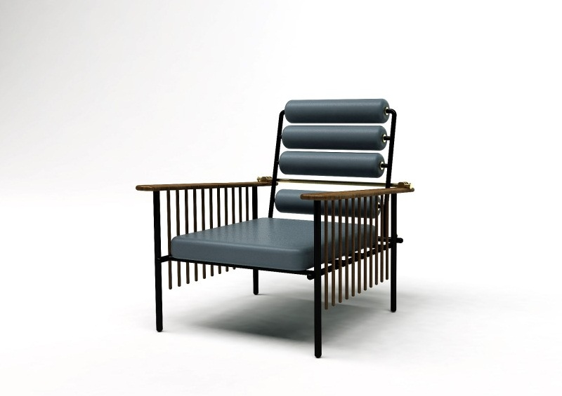 chaise maurice by david nicholas