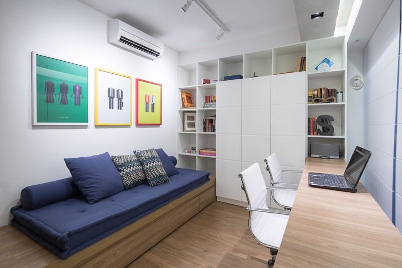 Proiectul de design interior open space pentru un apartament din Brazilia, de care s-au ocupat arhitectii de la Semerene Interior Architecture: