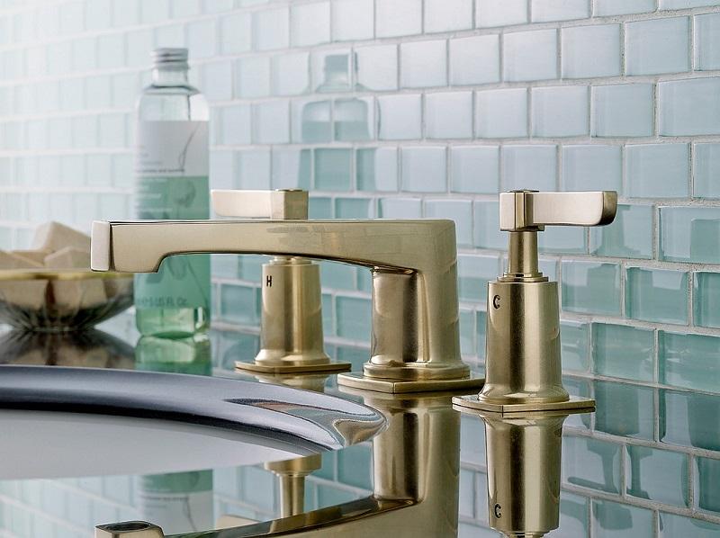 accesorii baie bronz