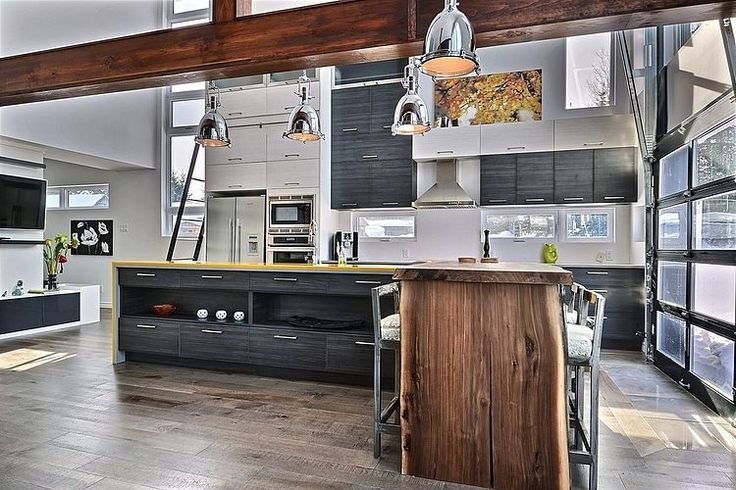 Design interior cu bucatarii open space