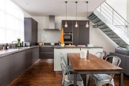 Design interior pentru bucatarii open space