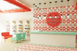 design interior cafenea vintage