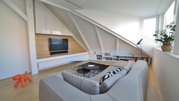 design interior mansarda