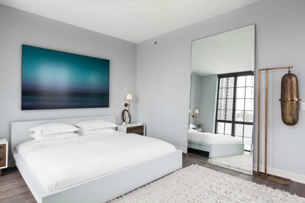 design interior dormitor detaliu bronz