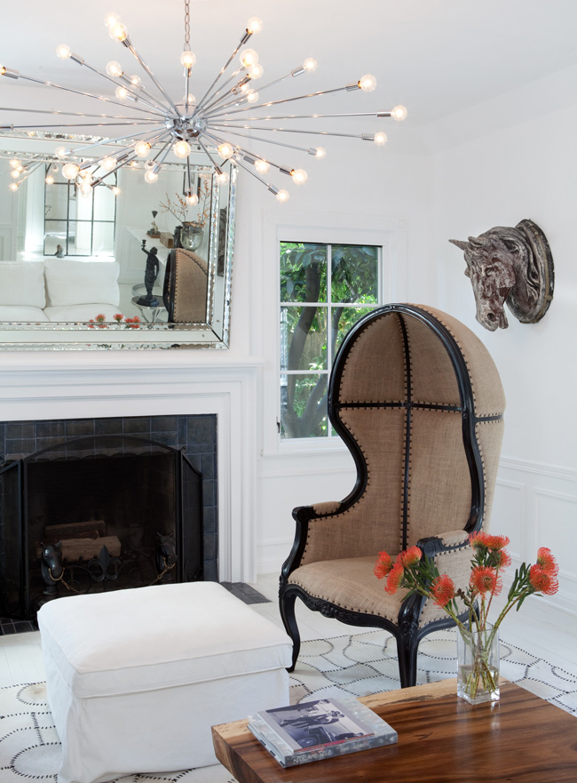 detaliu living scaun inalt
