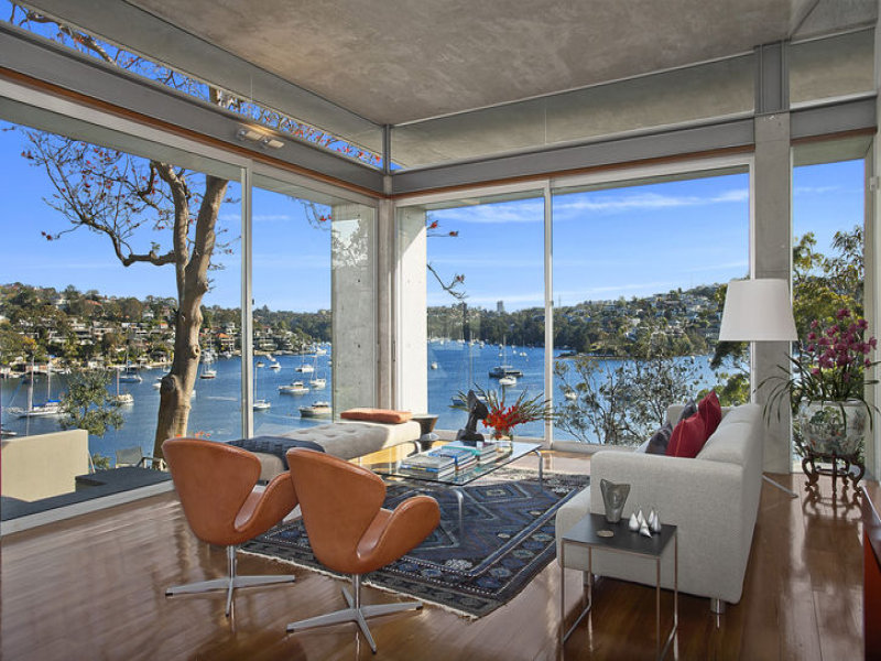 inspiratie design interior arhitectura perete cortina