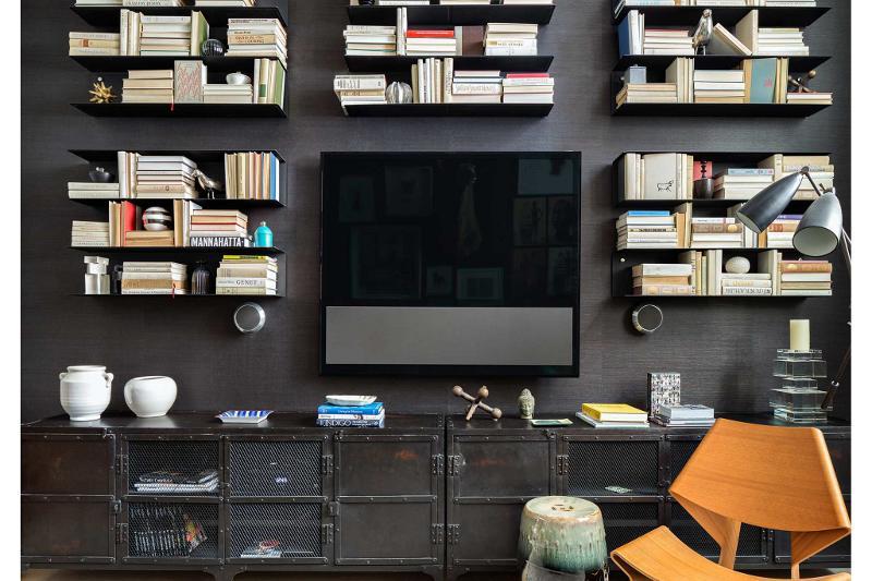 inspiratie design interior mobila neagra