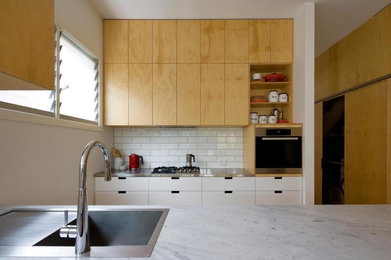 design interior culori natur bucatarie