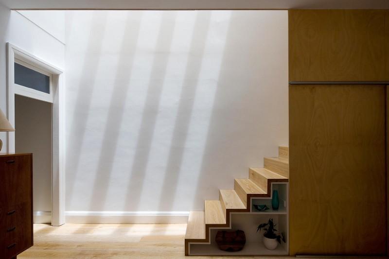 scara interior detaliu design interior culori natur