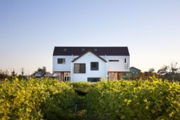 exemplu de casa pe structura de lemn