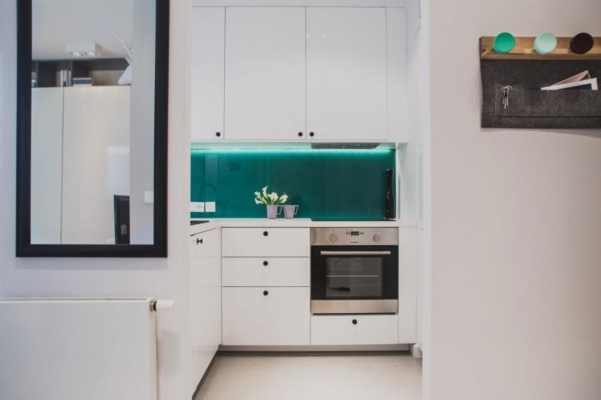 bucatarie garsoniera design interior