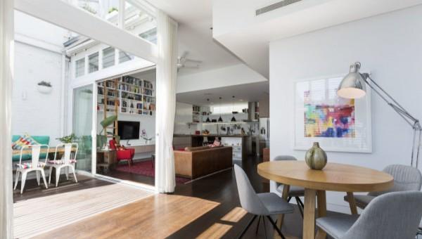 design interior apartament living terasa