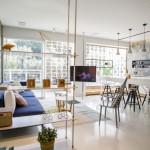 Un apartament aerisit, sofisticat, luxos in Tel Aviv
