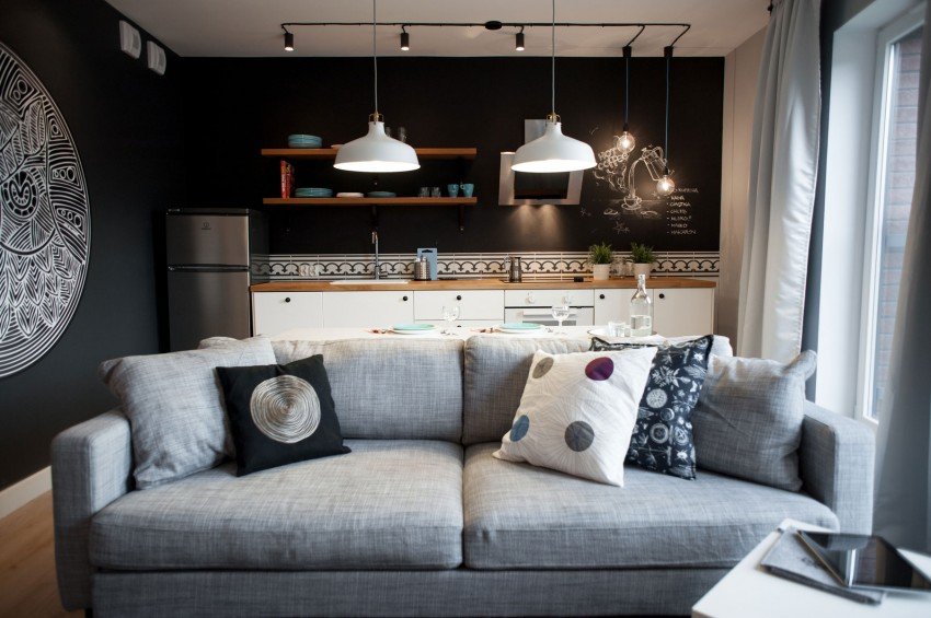 design interior de bucatarie