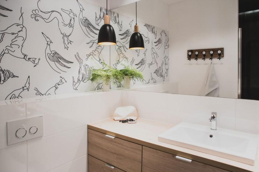 design interior garsoniera baie