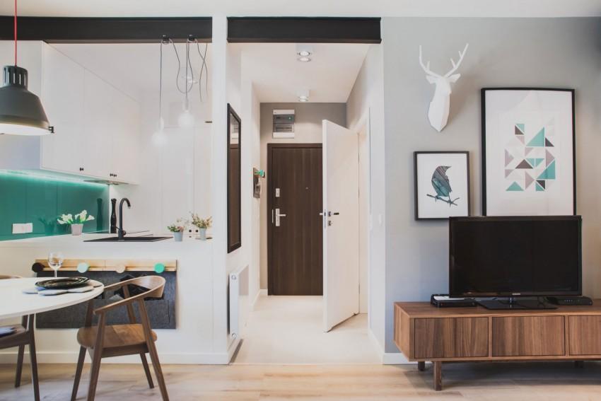 design interior garsoniera