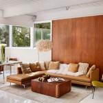 Design interior cu mult lemn, doua cazuri