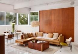 Design interior cu mult lemn