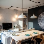 Design interior in alb-negru cu buget de 10.000 de euro