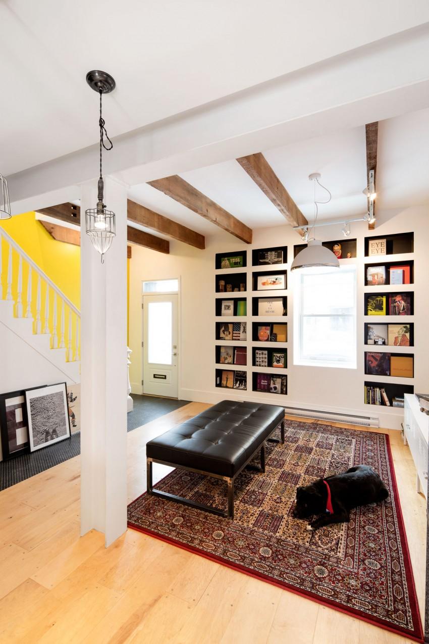 design interior living covor persan