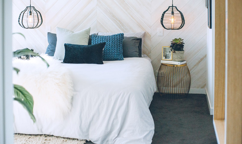 detalii de design dormitor