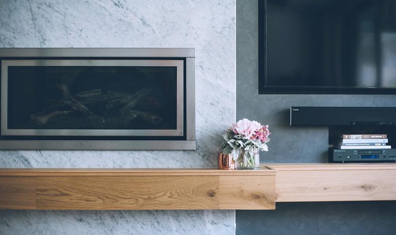detalii design living lemn