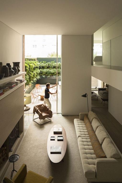 Design interior cu tonuri neutre casa new york