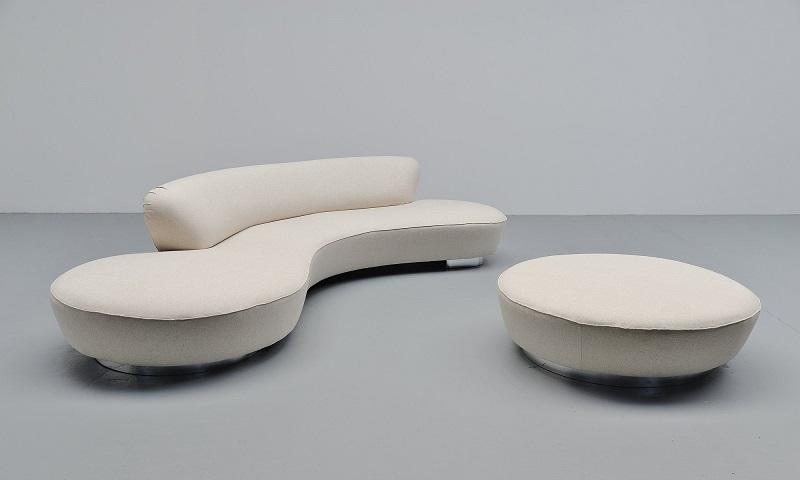 vladimir kagan serpentine sofa