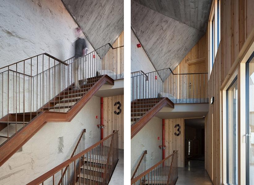 reconversie hotel industrial contemporan