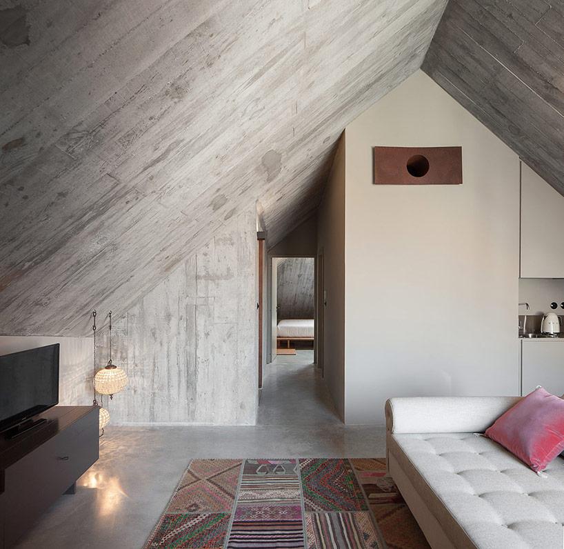 design interior beton aparent